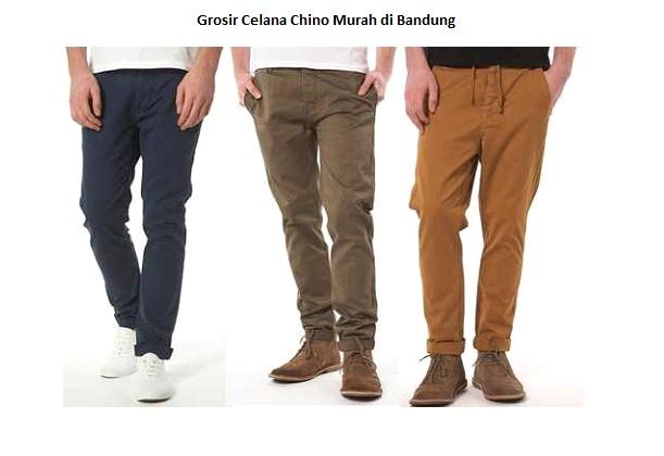 Grosiran Murah di Bandung Grosir Celana Chino Murah di Bandung