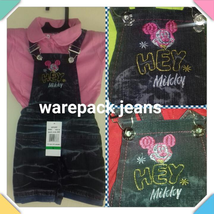 Grosiran Murah di Bandung Pusat Grosir Wearpack Jeans Anak Perempuan Murah 20Ribu