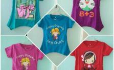 Grosir Kaos Cakra Karakter Anak Perempuan