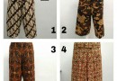 Sentra Grosir Celana Kulot Motif Batik Wanita Dewasa Murah