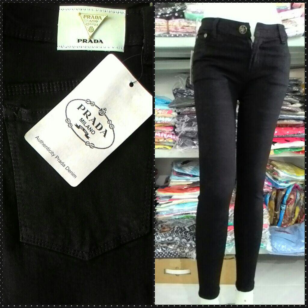 Grosiran Murah di Bandung Sentra Grosir Celana Jeans Prada Wanita Dewasa Murah 55Ribu