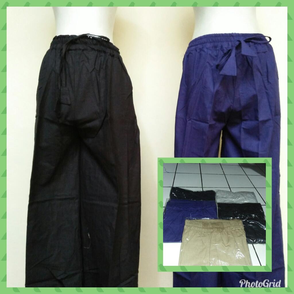 Grosiran Murah di Bandung Sentra Grosir Celana Kulot Linen Polos Dewasa Murah 45Ribu