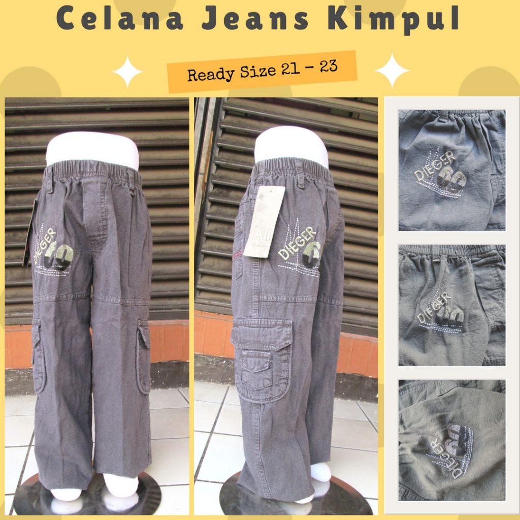 Grosiran Murah di Bandung Produsen Celana Jeans Kimpul Anak Laki Laki Murah 35Ribu