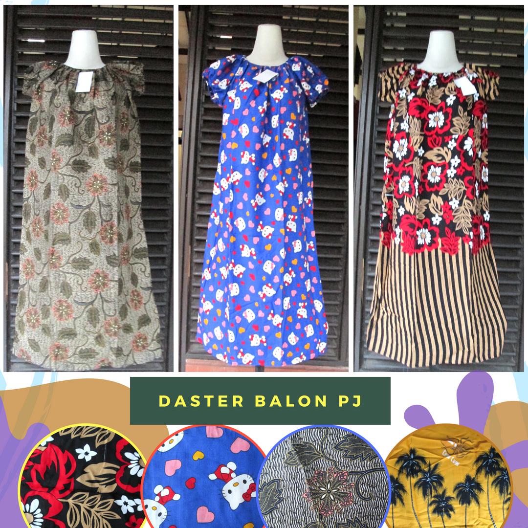Grosiran Murah di Bandung Produsen Daster Balon Panjang Dewasa Murah Bandung Rp.26.500