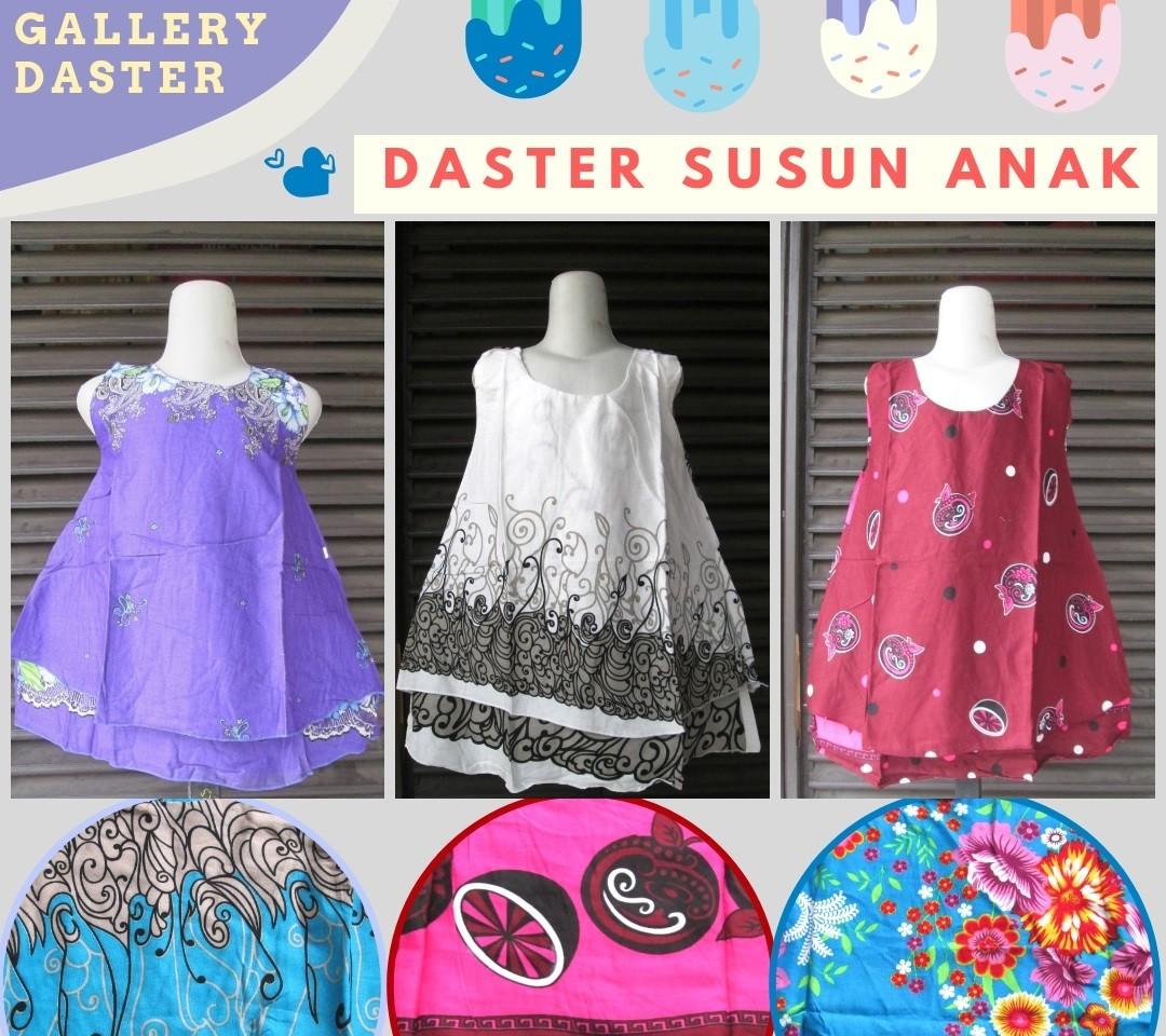 Grosiran Murah di Bandung Distributor Daster Susun Anak Perempuan Karakter Murah di Cimahi Mulai Rp.18.500