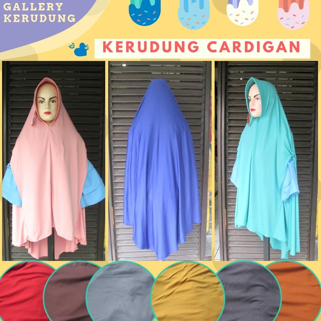 Grosiran Murah di Bandung Produsen Kerudung Cardigan Syar'i Dewasa Terbaru Murah 30Ribu di Bandung
