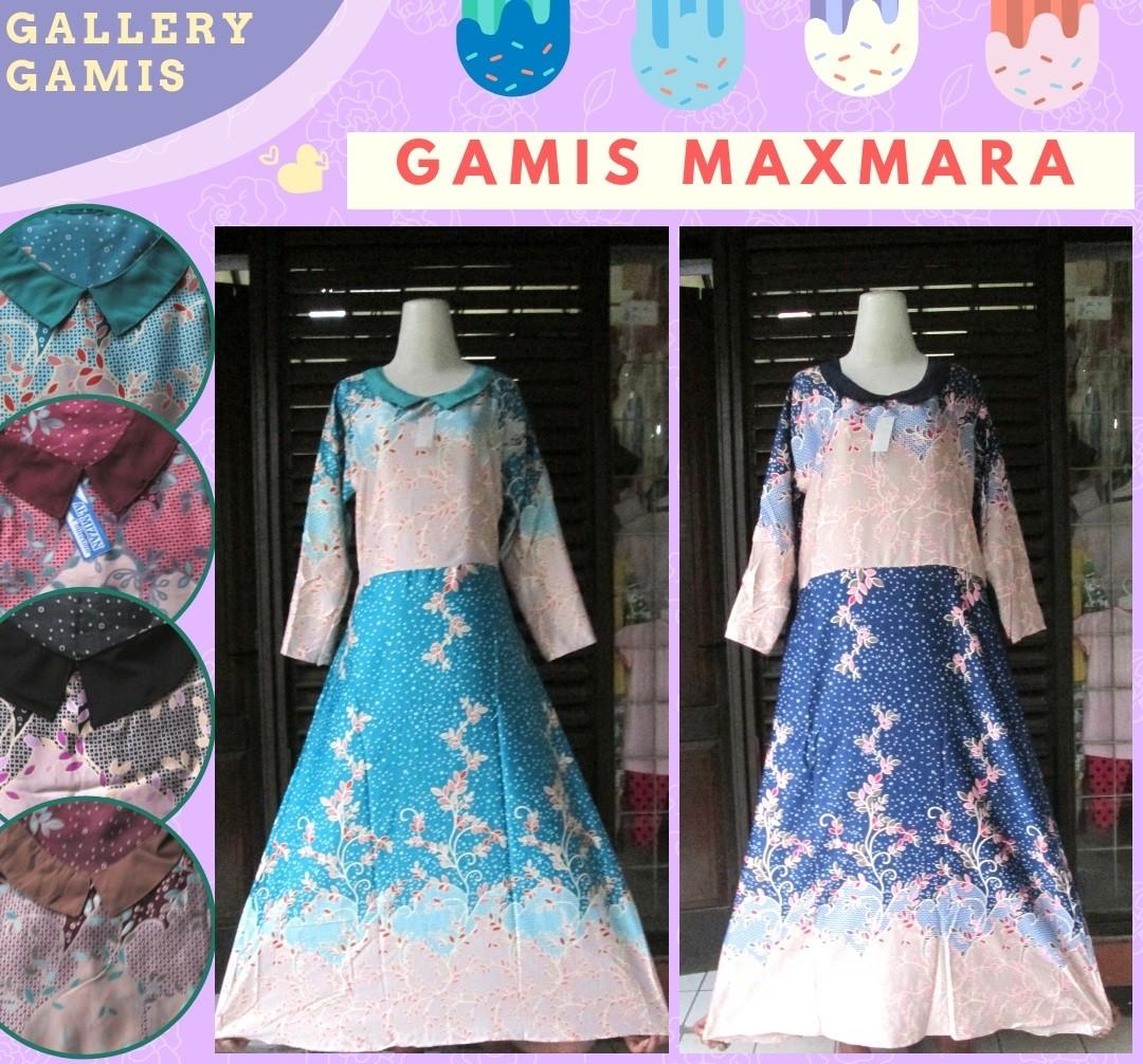 Grosiran Murah di Bandung Supplier Gamis Maxmara Dewasa Terbaru Murah di Bandung 55Ribu
