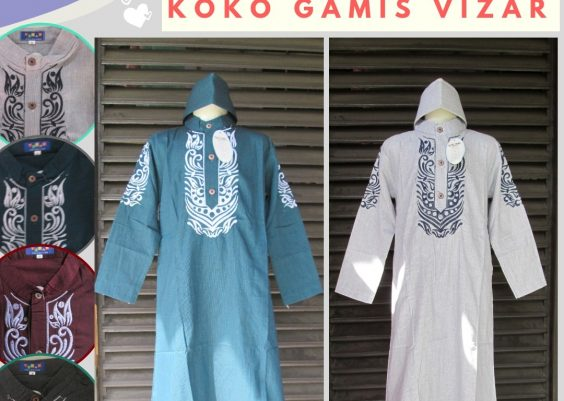 Grosiran Murah di Bandung Produsen Koko Gamis Vizar Anak Laki Laki Murah di Bandung Mulai Rp.59.500