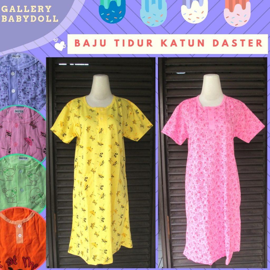 Grosiran Murah di Bandung Pusat Grosir Baju Tidur Katun Daster Dewasa Murah di Bandung 24Ribuan
