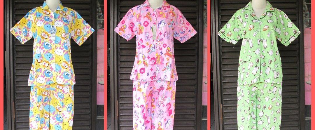 Grosiran Murah di Bandung Distributor Piyama Catra Celana Panjang Termurah di Bandung 51Ribuan