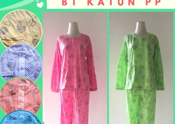 Grosiran Murah di Bandung Pusat Grosir Baju Tidur Katun PP Dewasa Murah di Kota Bandung Rp.32.500