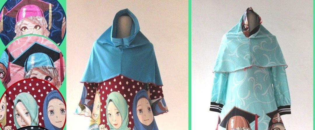 Grosiran Murah di Bandung Produsen Gamis Misby Anak Perempuan Karakter Murah di Bandung Mulai Rp.38.000