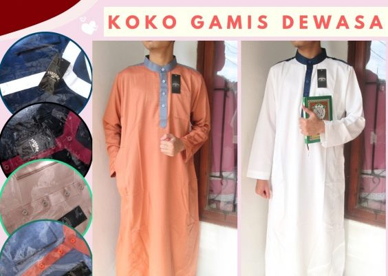 Grosiran Murah di Bandung Distributor Jubah Laki Laki Dewasa PREMIUM Murah di Bandung 98Ribuan