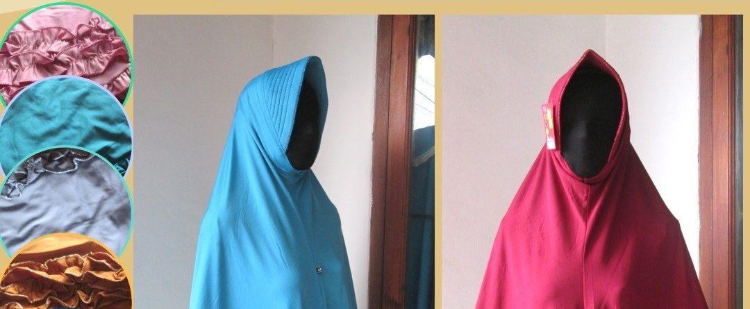 Grosiran Murah di Bandung Pabrik Kerudung Gotik Jumbo Dewasa Syar'i Murah di Bandung 28Ribuan