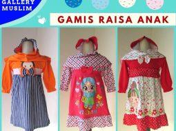 Grosiran Murah di Bandung Sentra Grosir Gamis Raisa Anak Perempuan Terbaru Murah di Bandung 36Ribuan