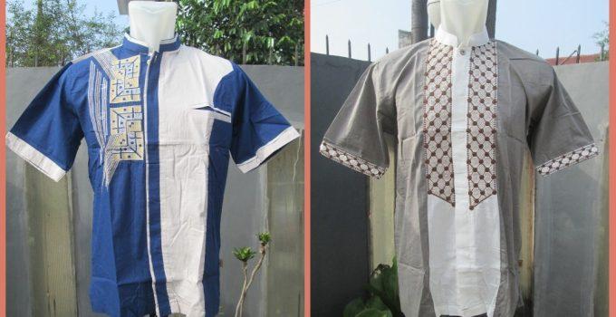Grosiran Murah di Bandung Distributor Baju Koko Katun Faris Dewasa Terbaru MURAH di Bandung 52Ribuan