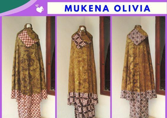 Grosiran Murah di Bandung Konveksi Mukena Olivia Dewasa Termurah di Bandung Hanya 90RIBUAN