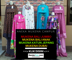 Grosiran Murah di Bandung Grosir Mukena Harga Murah 50rb