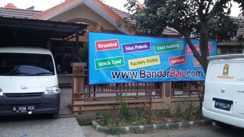 gudang pusat baju murah di BANDUNG bandarBAJU