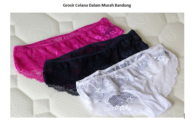 Grosiran Murah di Bandung Grosir Celana Dalam Murah Bandung