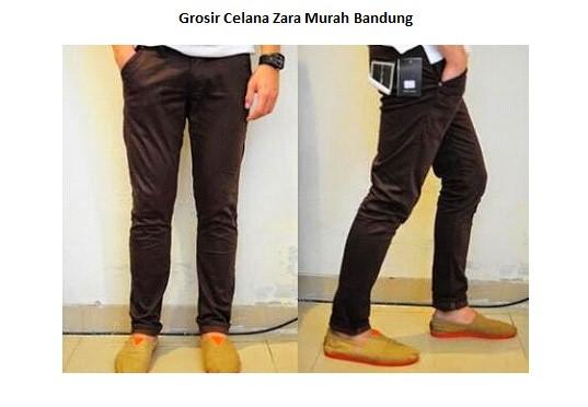 GROSIR PAKAIAN MURAH ONLINE DI BANDUNG Grosir Celana Zara Murah Bandung
