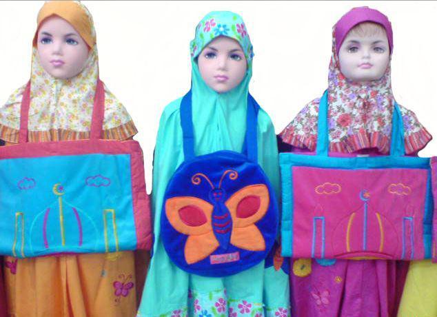 Grosiran Murah di Bandung Grosir Mukena Anak Murah Di Bandung