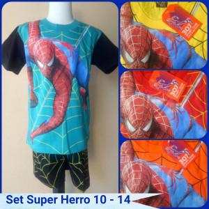 Sentra Grosir Setelan Super Hero Anak Murah Karakter