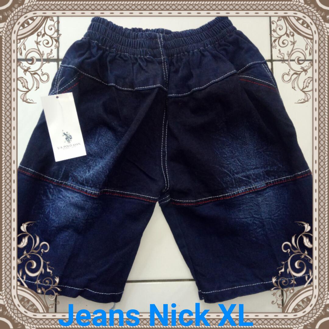 Grosiran Murah di Bandung Sentra Grosir Celana Jeans Nick Pendek Size XL Anak Laki Laki Murah 19Ribuan