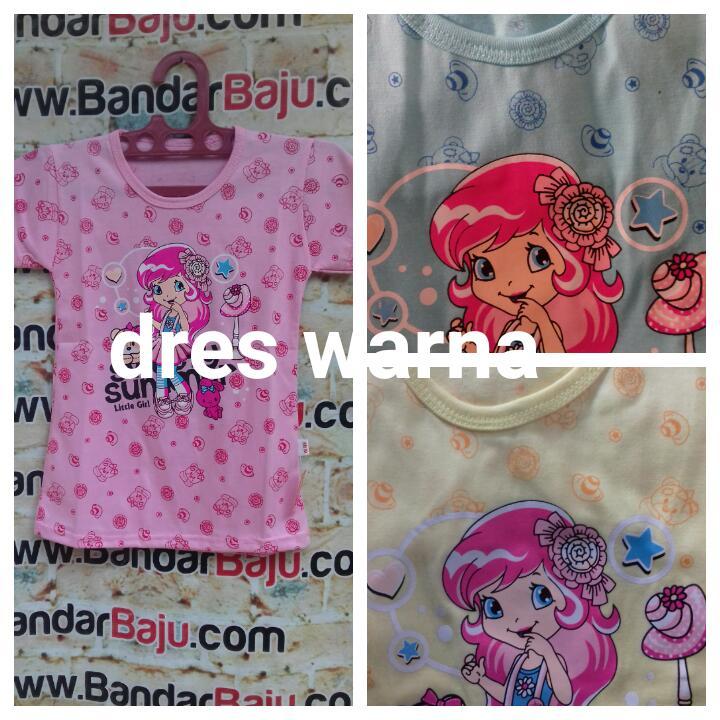 Grosiran Murah di Bandung Sentra Grosir Dress Warna Anak Perempuan Karakter Murah Bandung 10Ribu