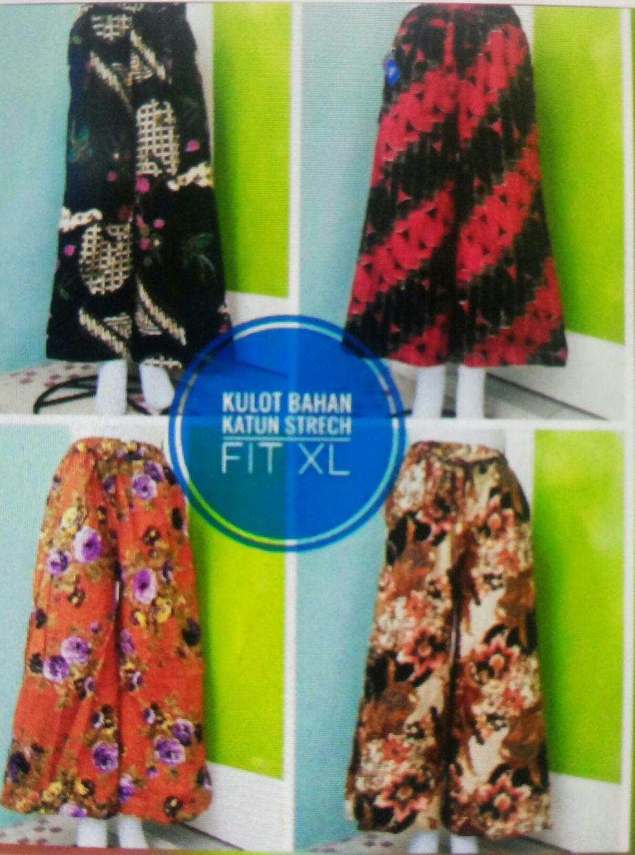 Grosiran Murah di Bandung Sentra Grosir Celana Kulot Batik Murah Bandung 35RIbuan