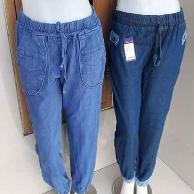 Grosiran Murah di Bandung Kulakan Celana Jogger Jeans Wanita Dewasa Murah 40Ribu