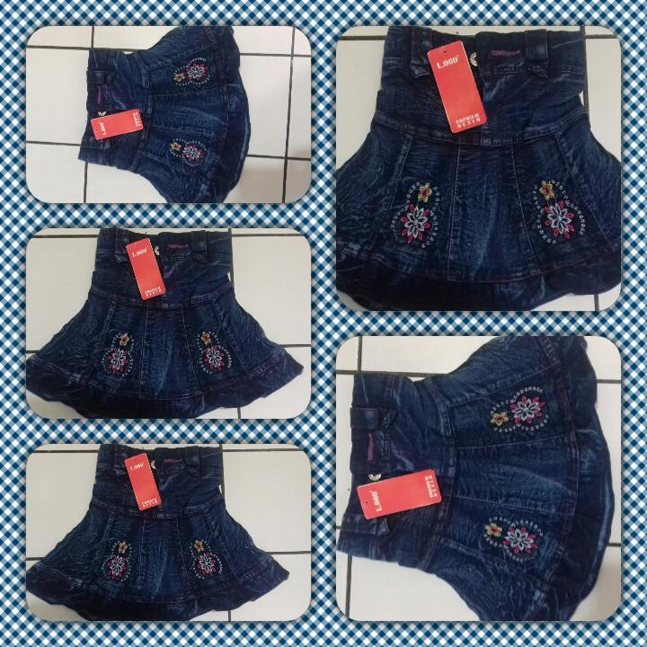 Grosiran Murah di Bandung Sentra Grosir Rok jeans Anak Perempuan Murah 18Ribu