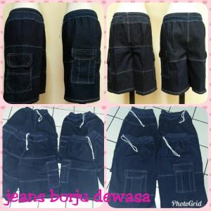 Grosir Celana Jeans Borju Dewasa Murah Bandung