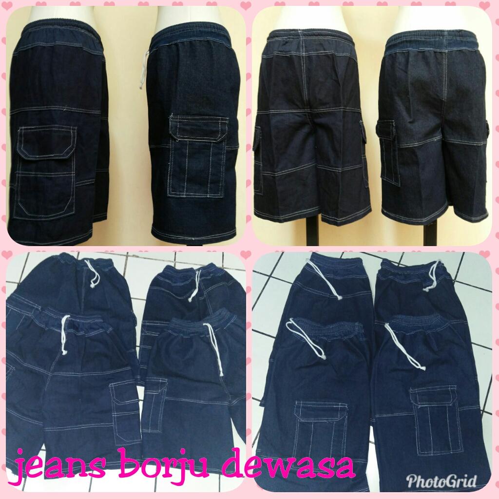 GROSIR PAKAIAN MURAH ONLINE DI BANDUNG Grosir Celana Jeans Borju Dewasa Murah Bandung 20Ribu