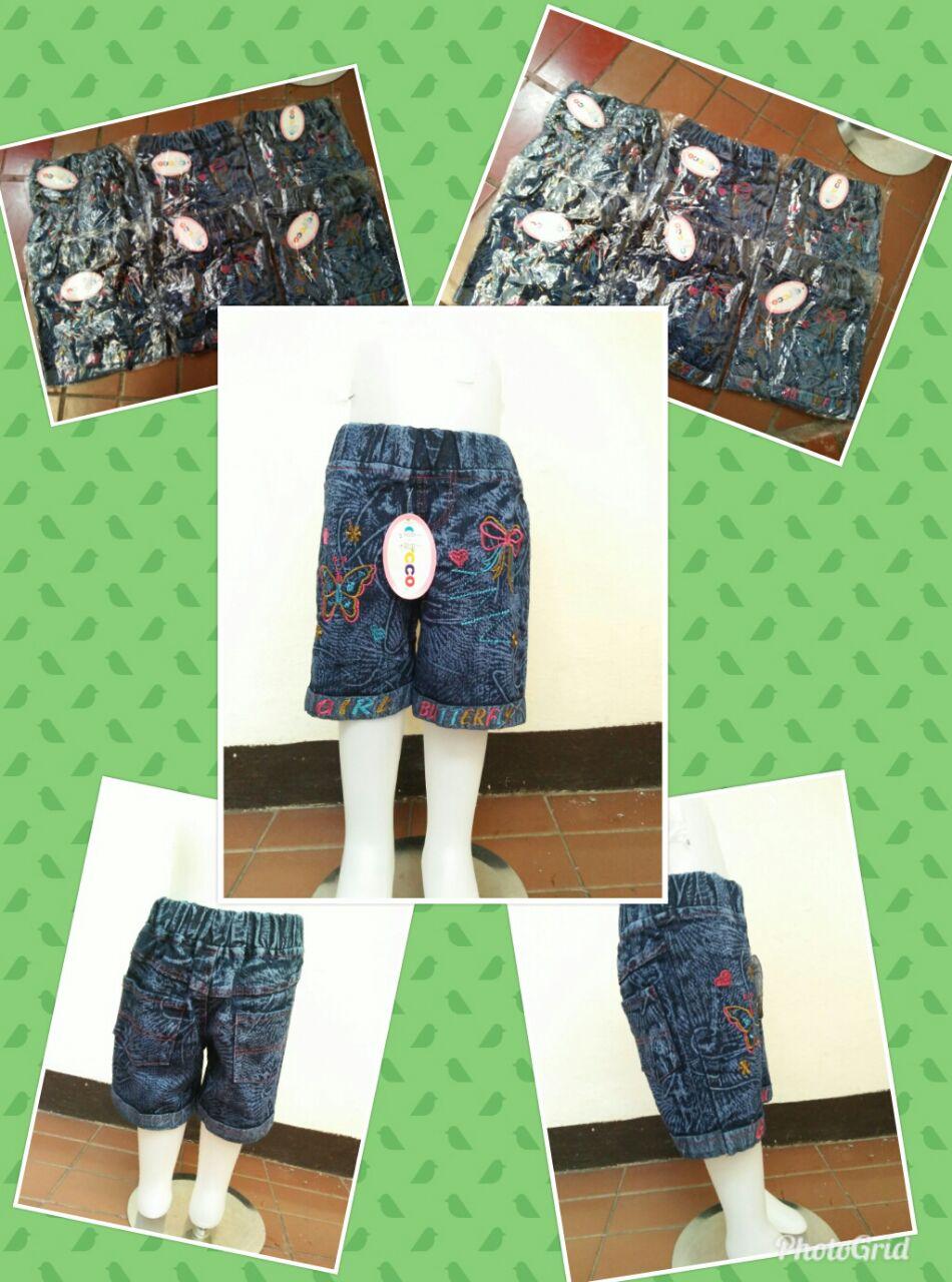 Grosiran Murah di Bandung Grosir Celana Jeans Hotpant Anak Perempuan Murah Bandung 25Ribu