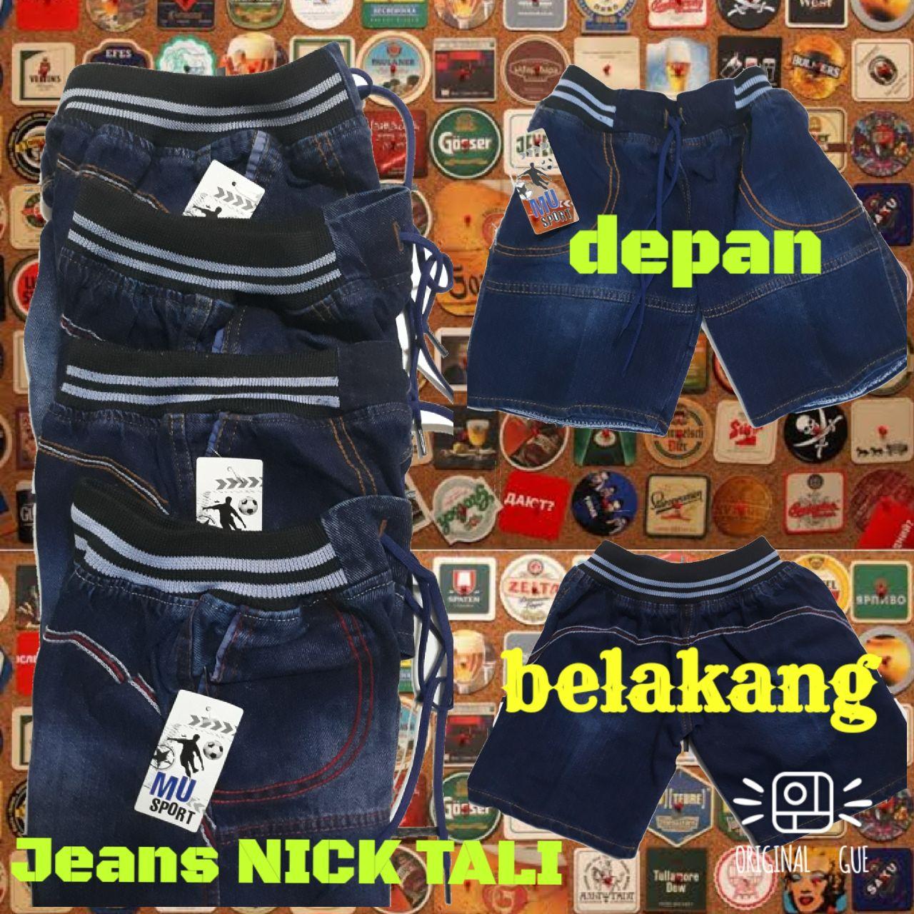 Grosiran Murah di Bandung Grosir Celana Jeans Nick Tali Anak Laki Laki Murah Bandung 20Ribu