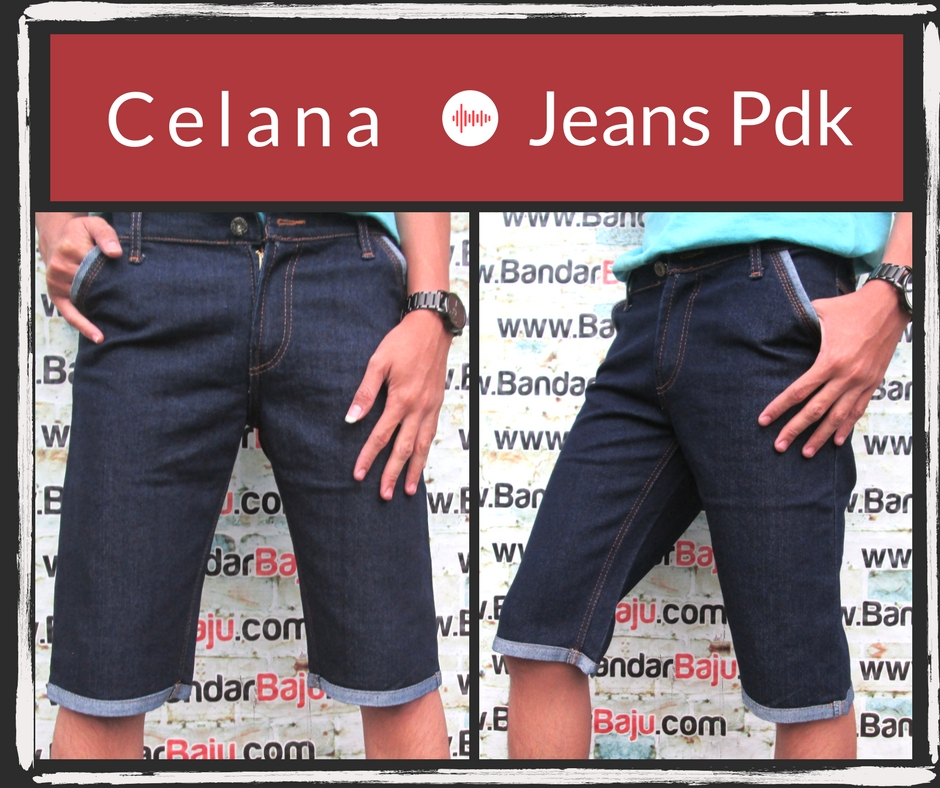 Grosiran Murah di Bandung Supplier Celana Jeans Pendek Dewasa Murah Bandung Rp.39.500