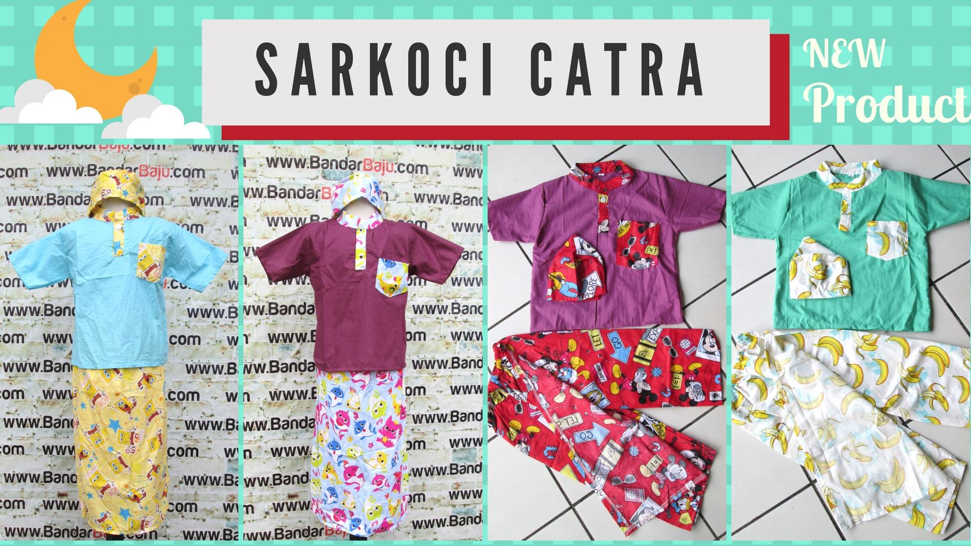 GROSIR PAKAIAN MURAH ONLINE DI BANDUNG Produsen Koko Sarkoci Catra Anak Murah Bandung 35Ribu