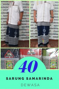 Produsen Sarung Samarinda Dewasa Murah di Bandung 40Ribu