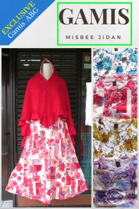 Distributor Gamis Misbee Jidan Anak Remaja Murah Bandung