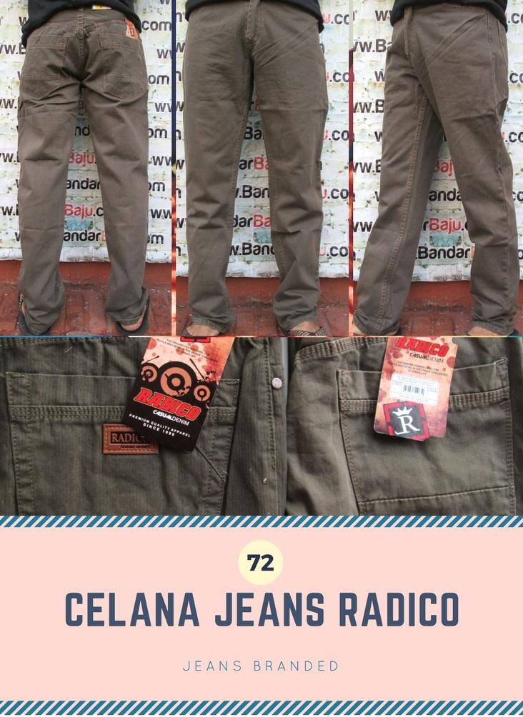 GROSIR PAKAIAN MURAH ONLINE DI BANDUNG Agen Celana Jeans Radico Pria Dewasa Murah Bandung 72Ribu