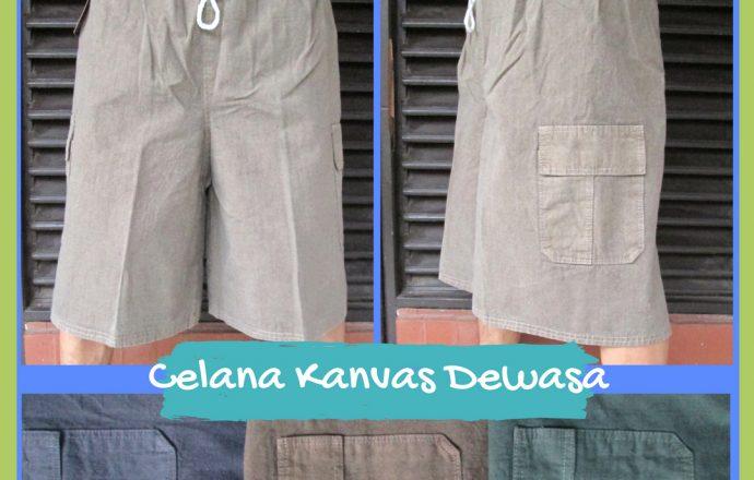 Grosiran Murah di Bandung Konveksi Celana Kanvas Dewasa Murah Bandung 23Ribu
