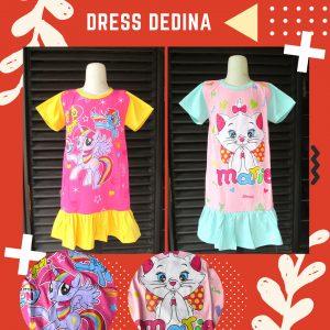 Pusat Grosir Dress Dedina Anak Perempuan Murah
