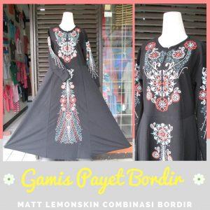 Supplier Gamis Payet Bordir Dewasa Murah Bandung