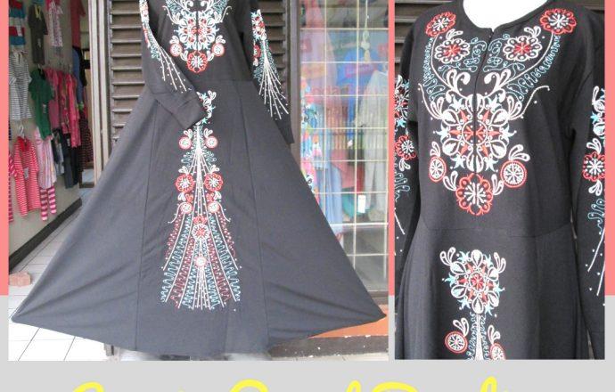 Grosiran Murah di Bandung Supplier Gamis Payet Bordir Dewasa Murah Bandung 125Ribu