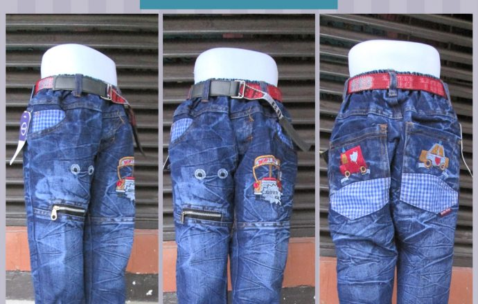 Grosiran Murah di Bandung Supplier Celana Jeans Brand Kids Anak Laki Laki Murah Bandung 45Ribu