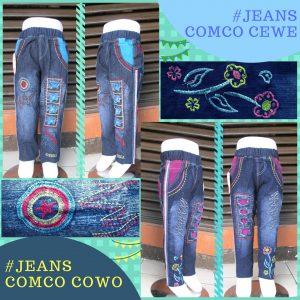 Sentra Grosir Jeans Comco Anak Murah Bandung