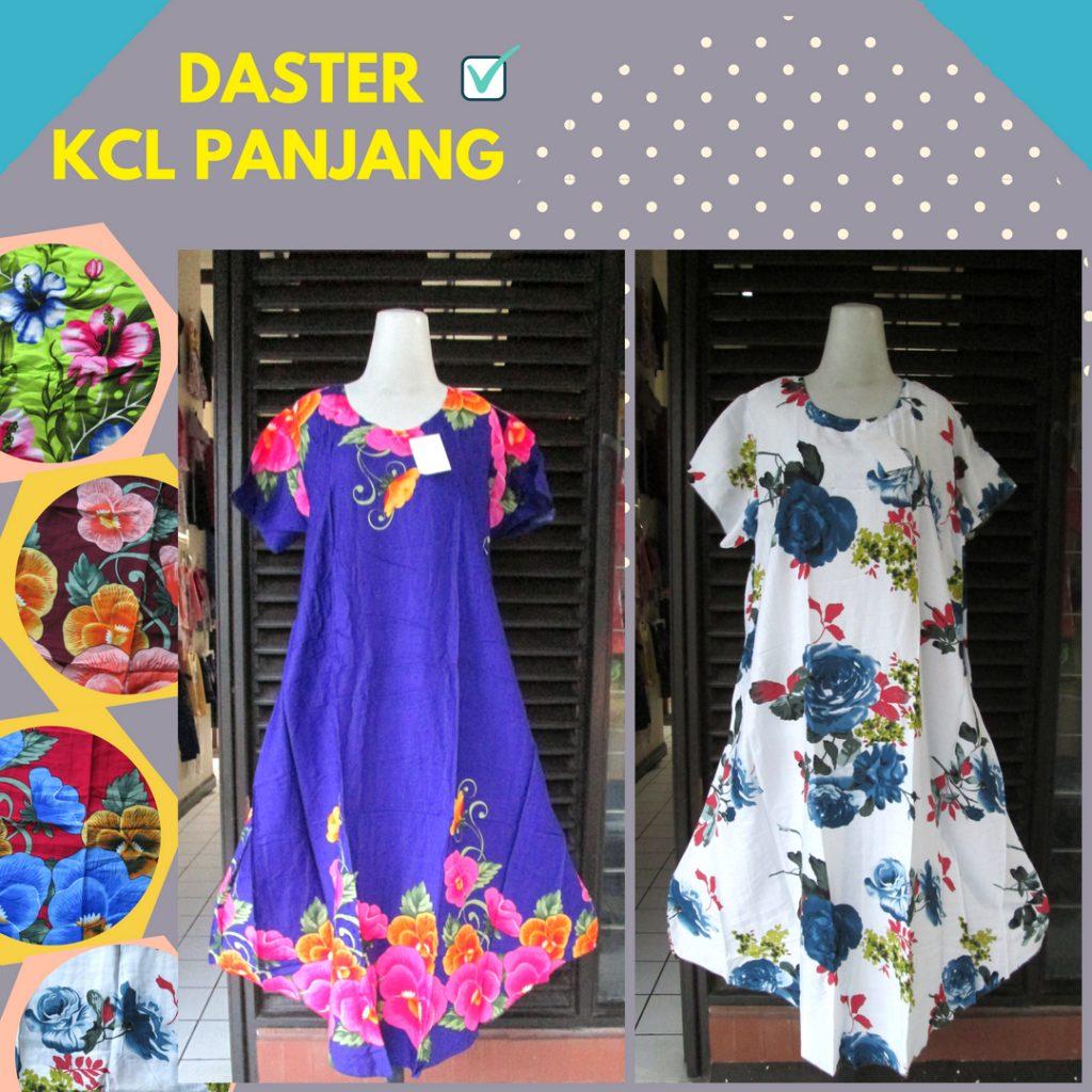 Grosiran Murah di Bandung Distributor Daster KCL Panjang Dewasa Murah Bandung 33Ribu
