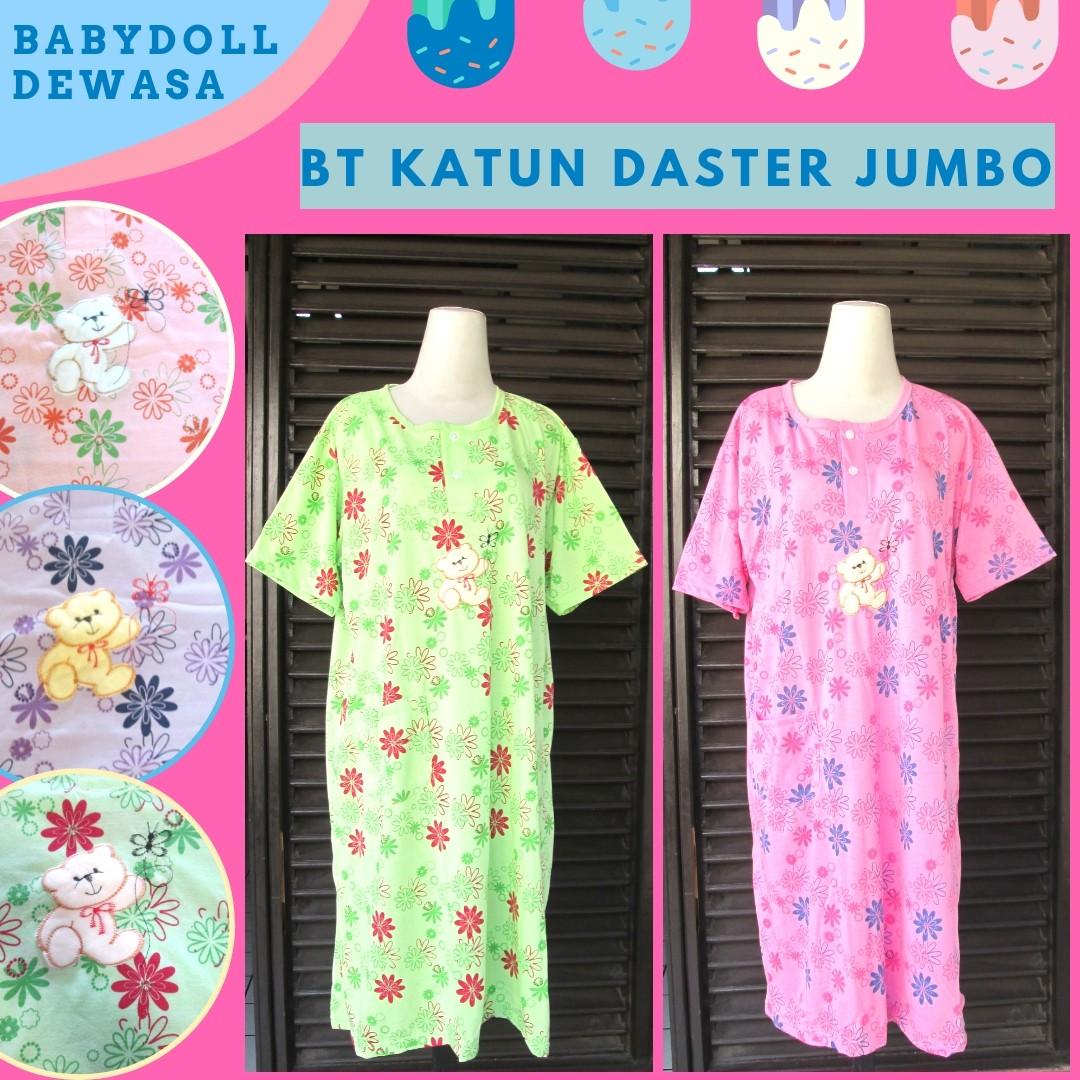 Grosiran Murah di Bandung Grosir Baju Tidur Katun Daster Dewasa Jumbo Murah 25Ribu