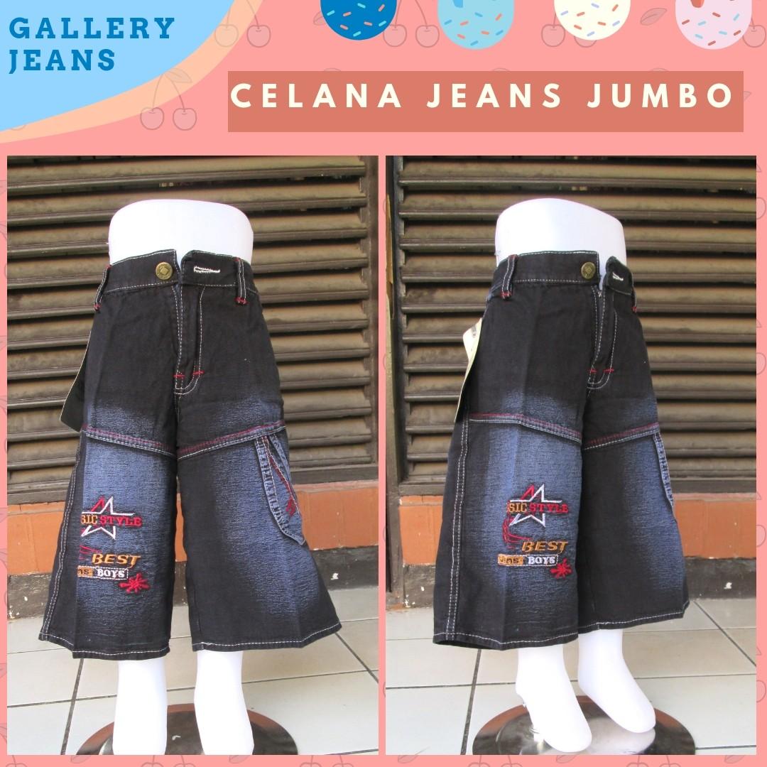 Grosiran Murah di Bandung Sentra Grosir Celana Jeans Jumbo Anak Laki Laki Murah di Bandung Rp.24.500